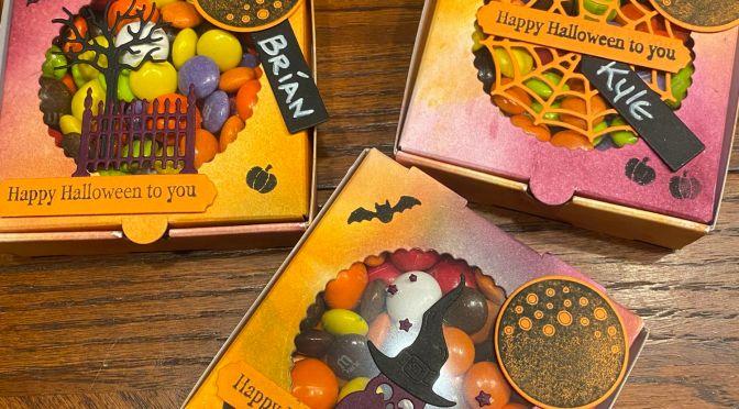 Frightfully Cute Treat Boxes